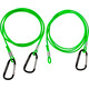 Swimrunners Hook-Cord 3 meter zielony